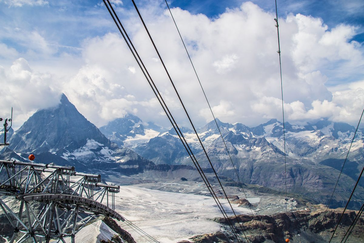 Cima del Matterhorn Glacier Paradise