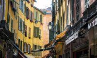 Colores del centro de Niza - un día en Niza y Montecarlo