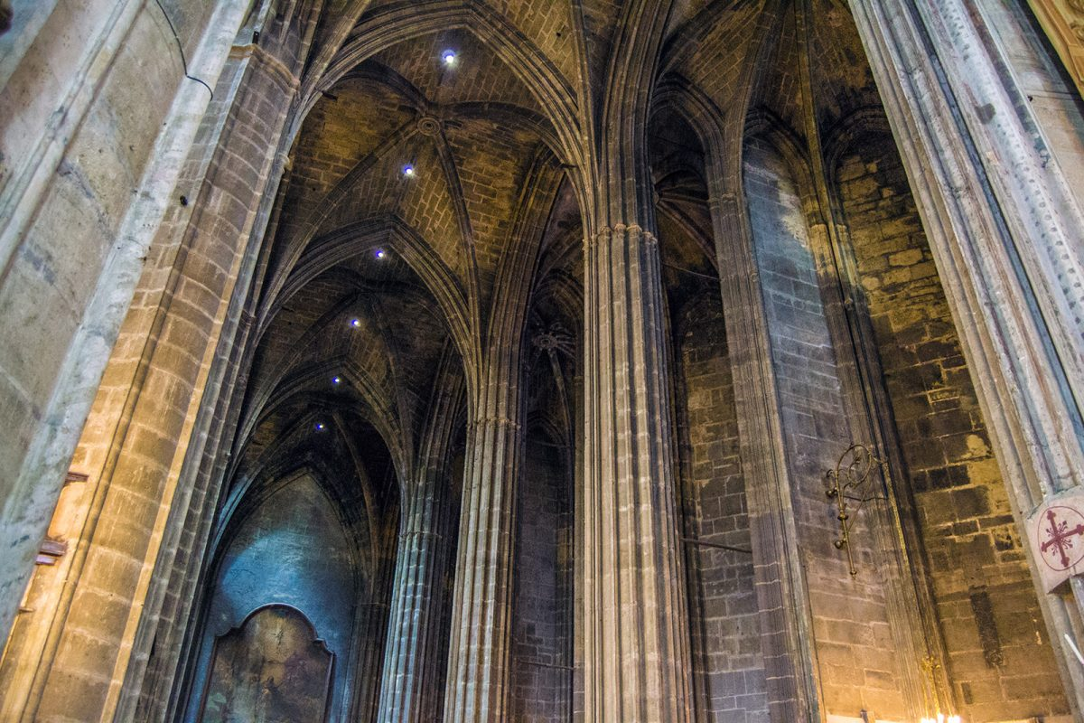 Columnas Catedral de Narbona - qué ver en Narbona