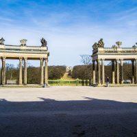 Columnatas y ruinas falsas en el Palacio de Sanssouci – día 3 en Berlín