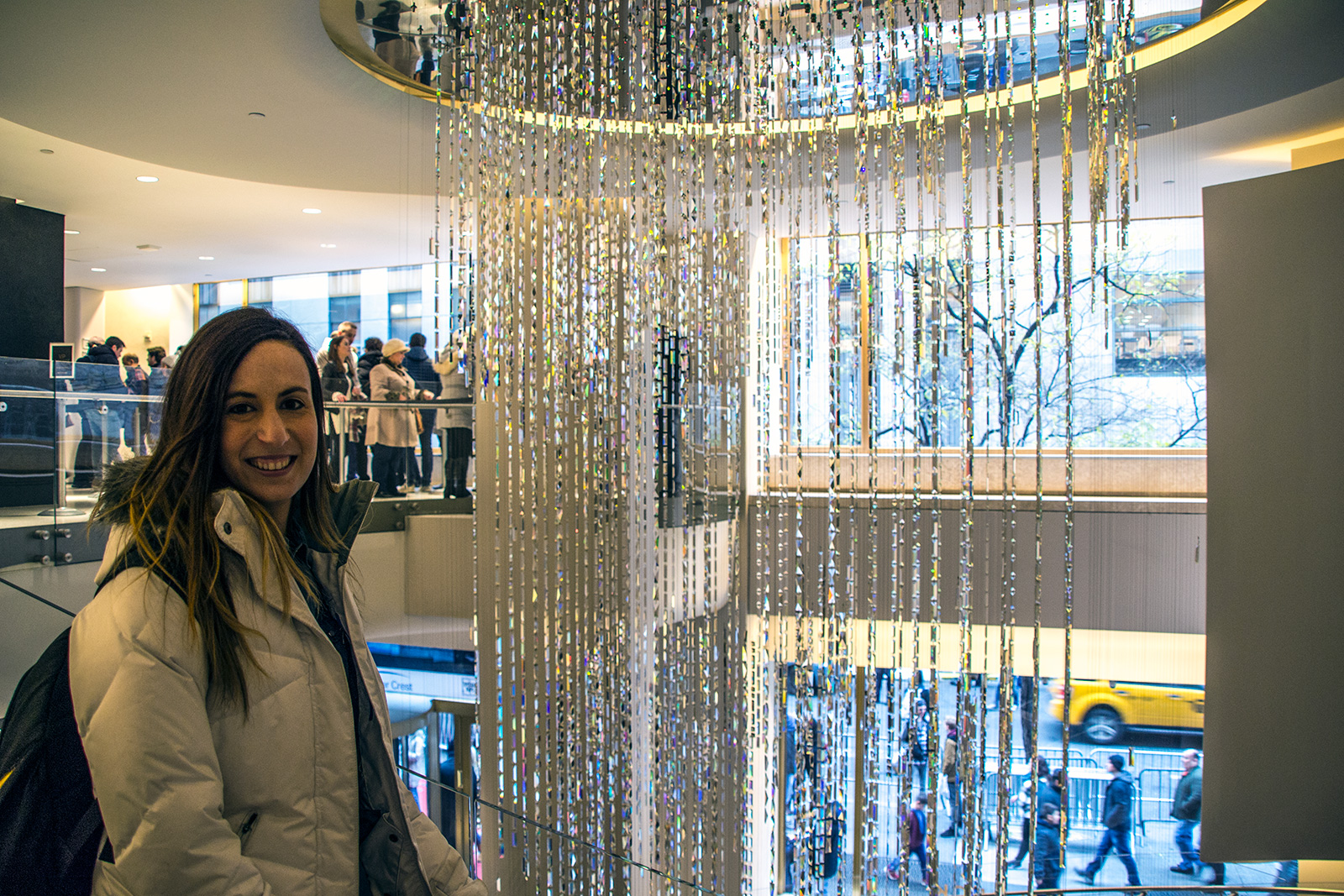 Cristales de Swarovski en el Top of the Rock - New York CityPass