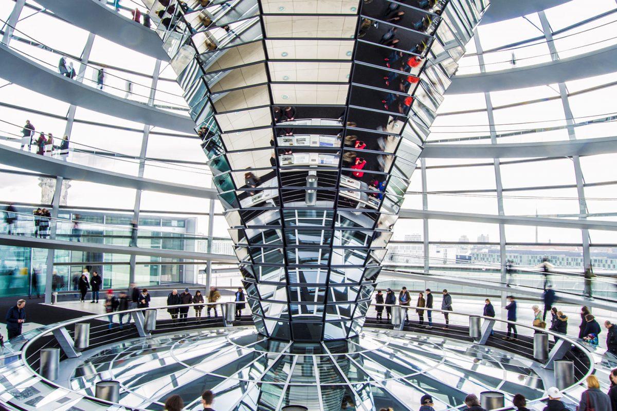 Cúpula del Reichstag - día 4 en Berlín