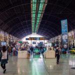 Vías de trenes de la estación del Norte de Valencia - Un día en Valencia
