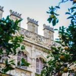 Patio interior de la Lonja de la Seda o de los Mercaderes - Un día en Valencia