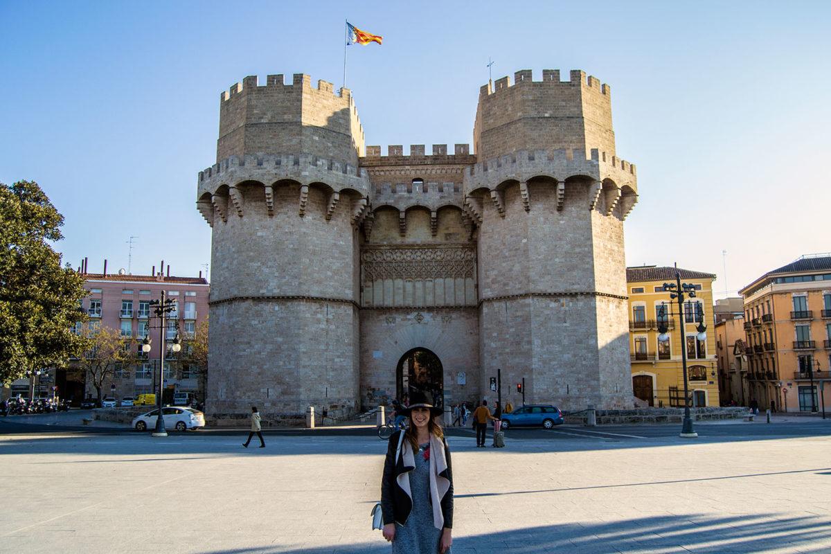 Torres de Serranos - Un día en Valencia