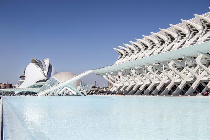 Ciudad de las Artes y las Ciencias de día - Un día en Valencia