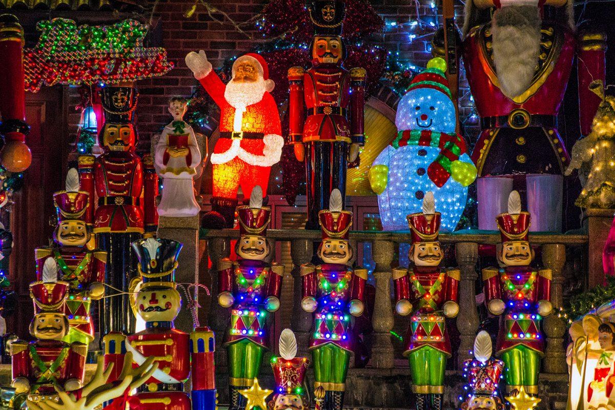 Decoración navideña - excursiones desde Nueva York