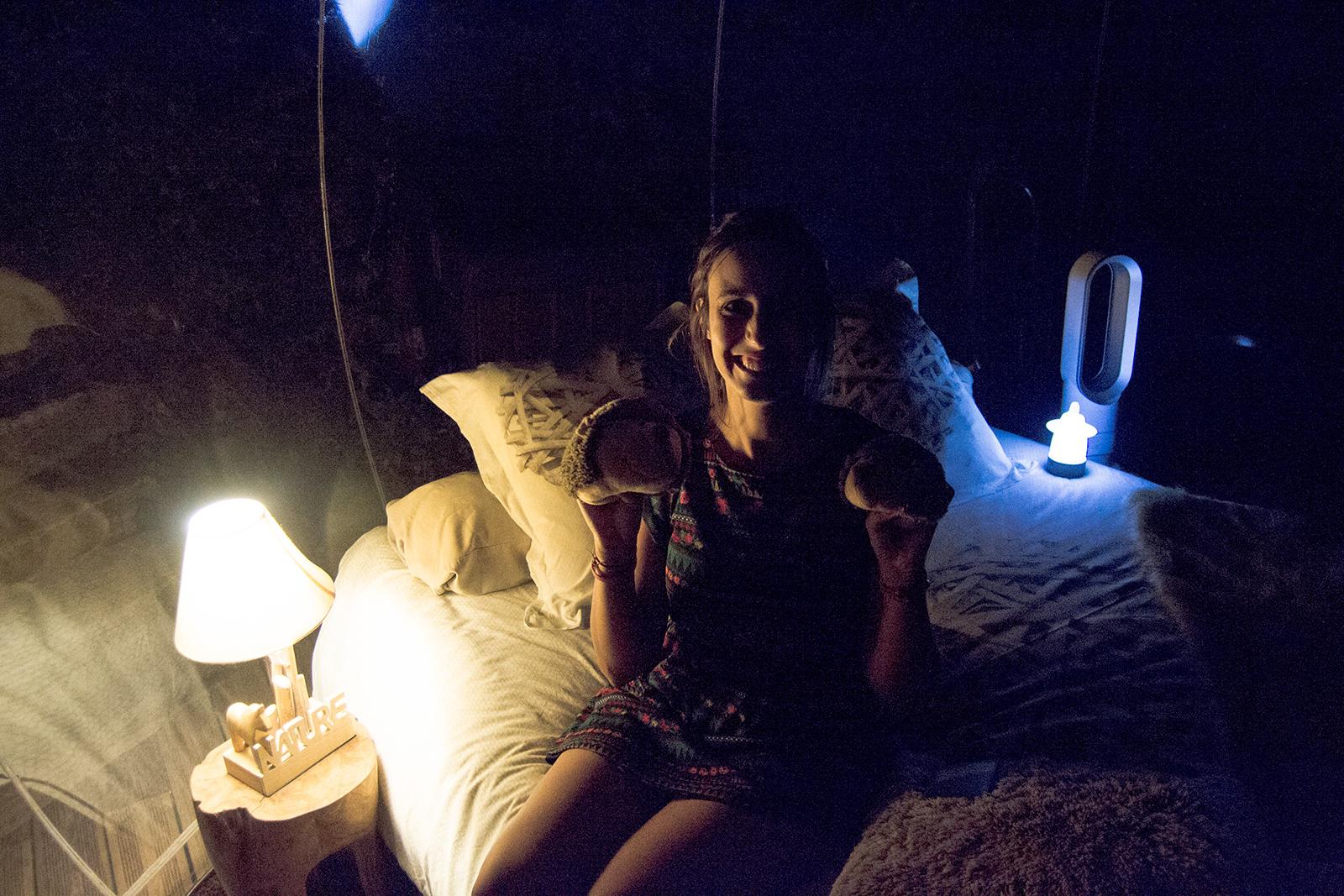Dormir bajo las estrellas - domir en una burbuja Attrap'reves