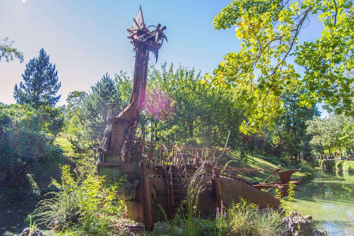 Dragón del Jardín Japonés de Toulouse