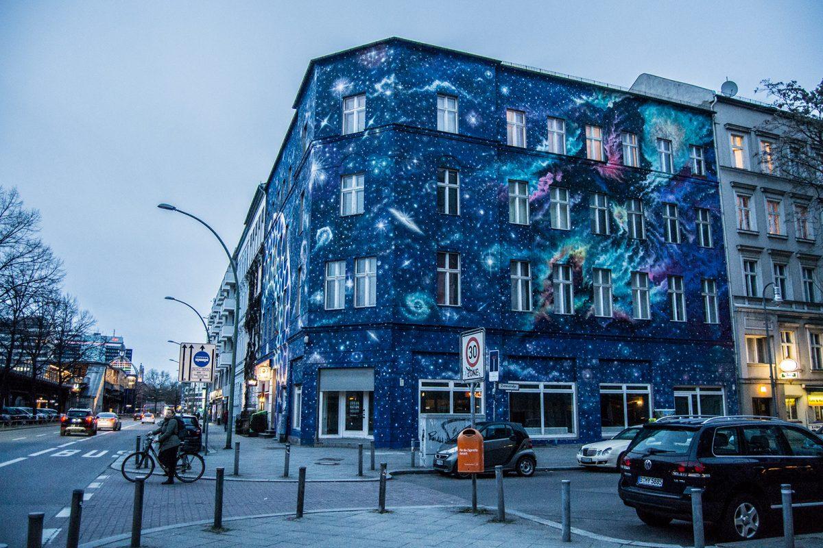 Edificio galaxias en Berlín