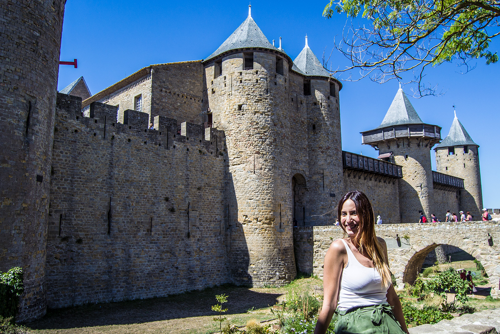 Entrada al Castillo Condal de Carcassonne