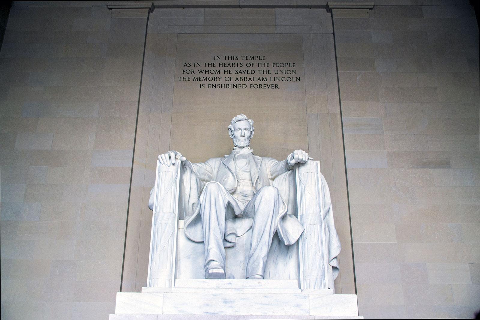 Escultura de Lincoln - excursiones desde Nueva York