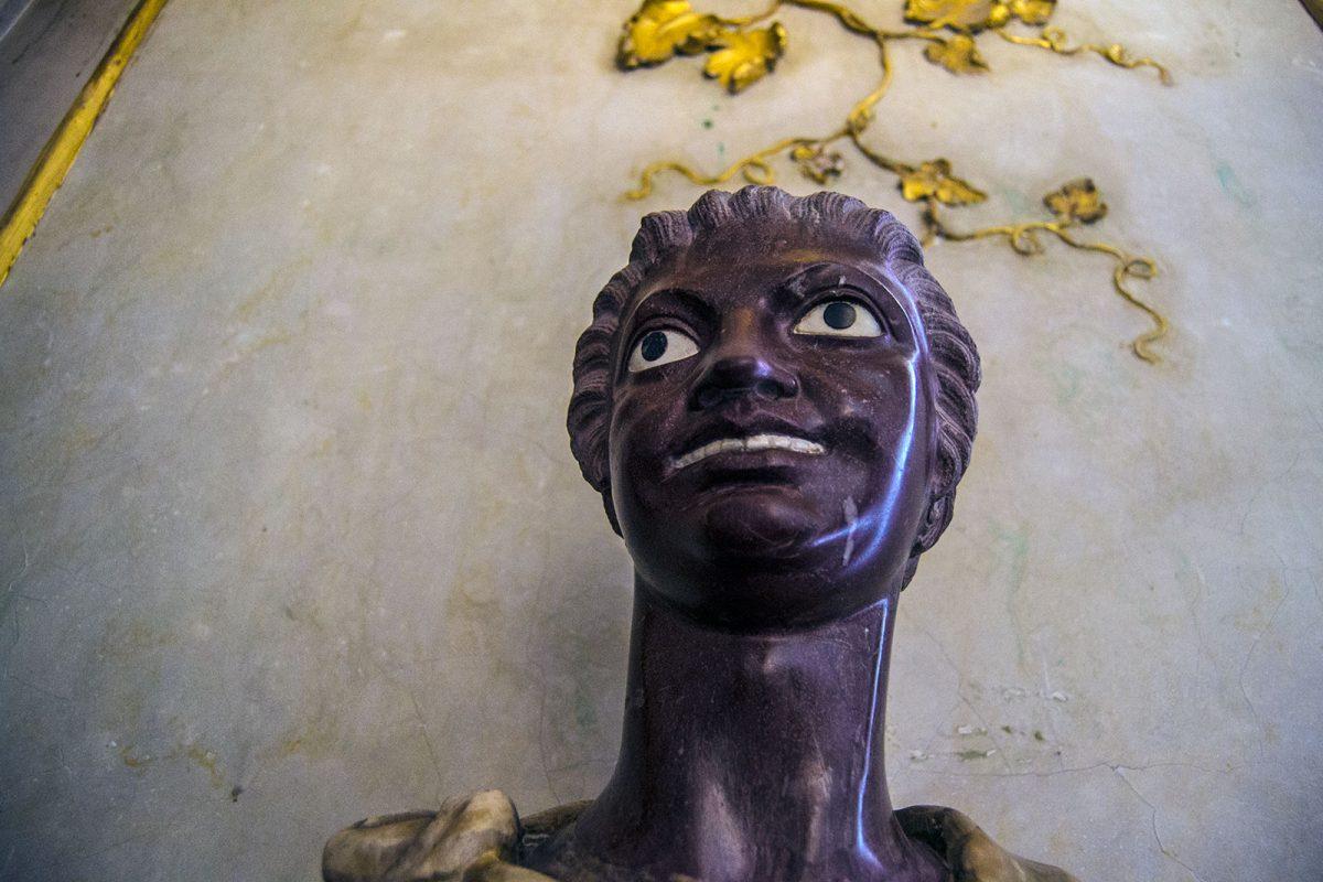 Escultura en el Palacio de Sanssouci - día 3 en Berlín