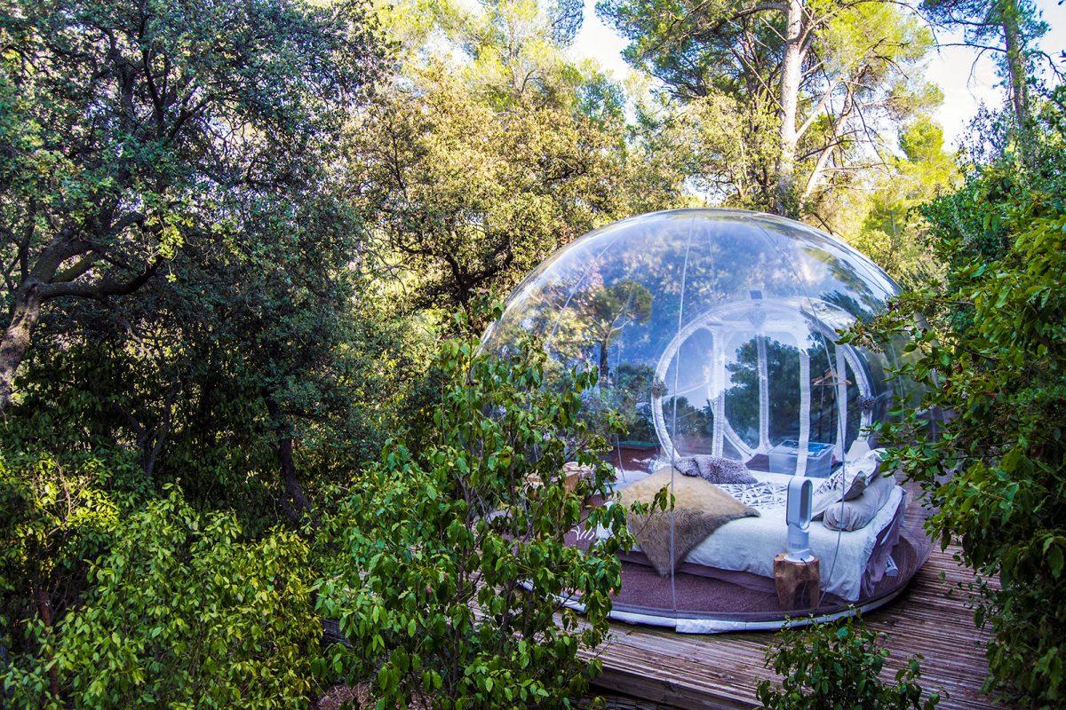 Roadtrip Sur Francia VII: Marsella y la experiencia de dormir en una burbuja 🌳✨