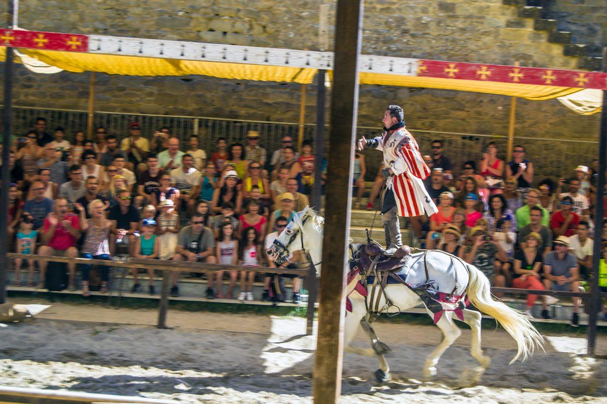 Espectáculo medieval en Carcassonne 4