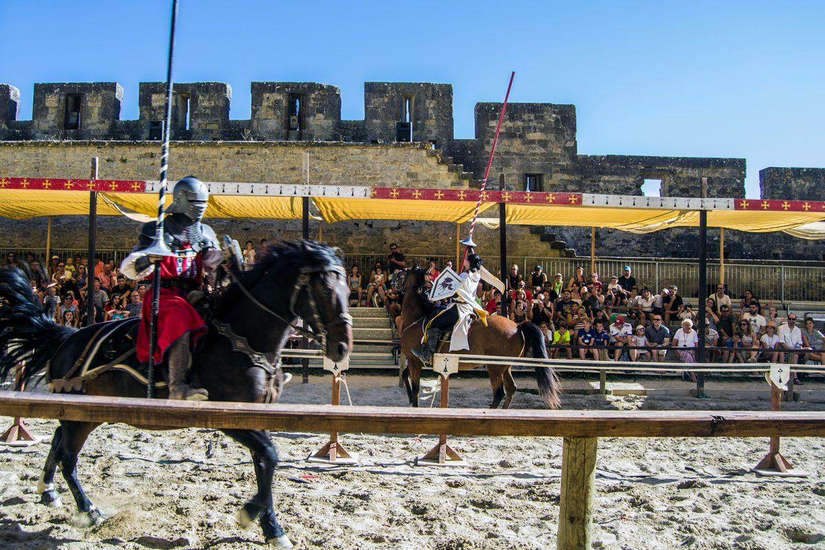 Espectáculo medieval en Carcassonne 7
