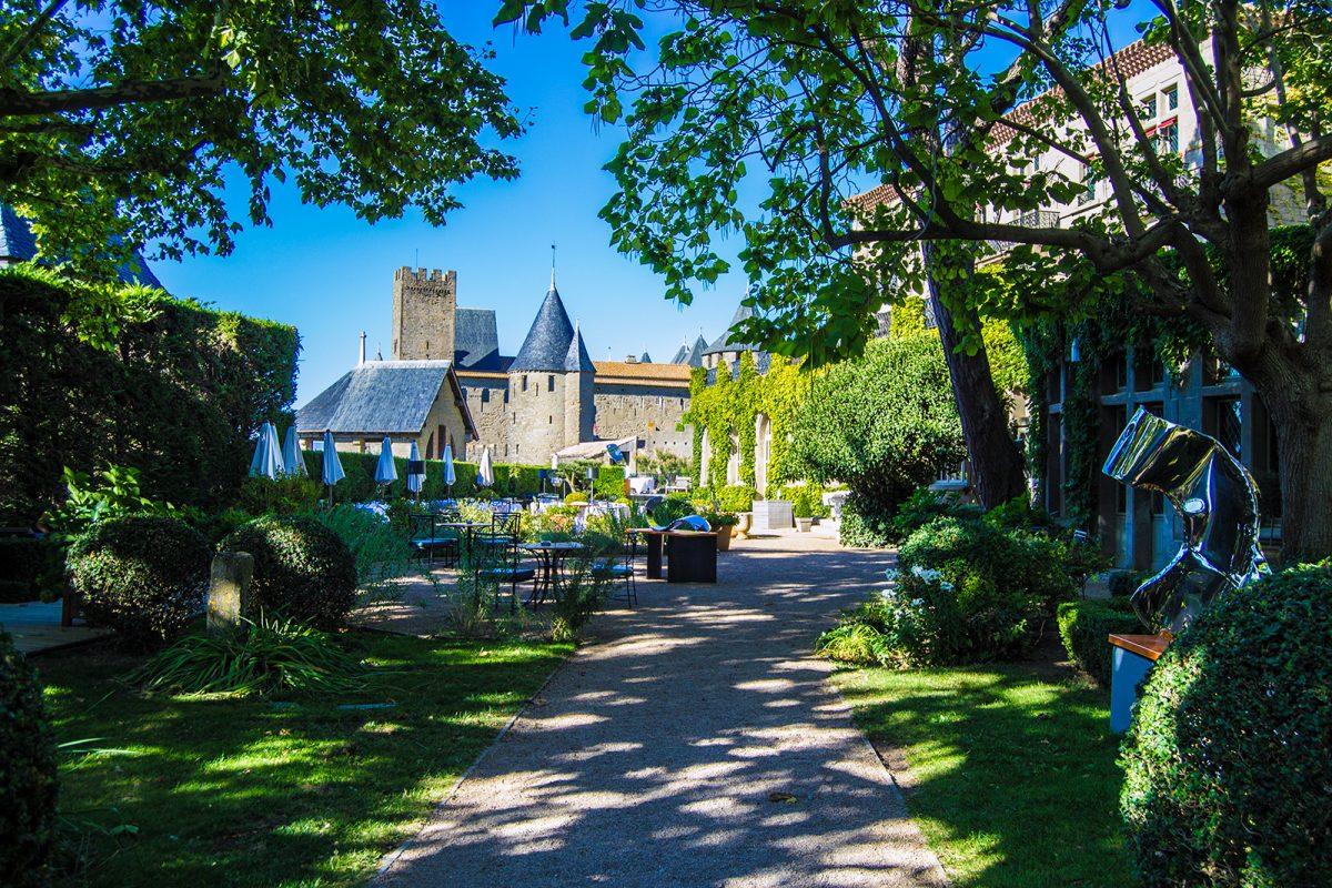 Exteriores del Hotel de la Cité Carcassonne 2