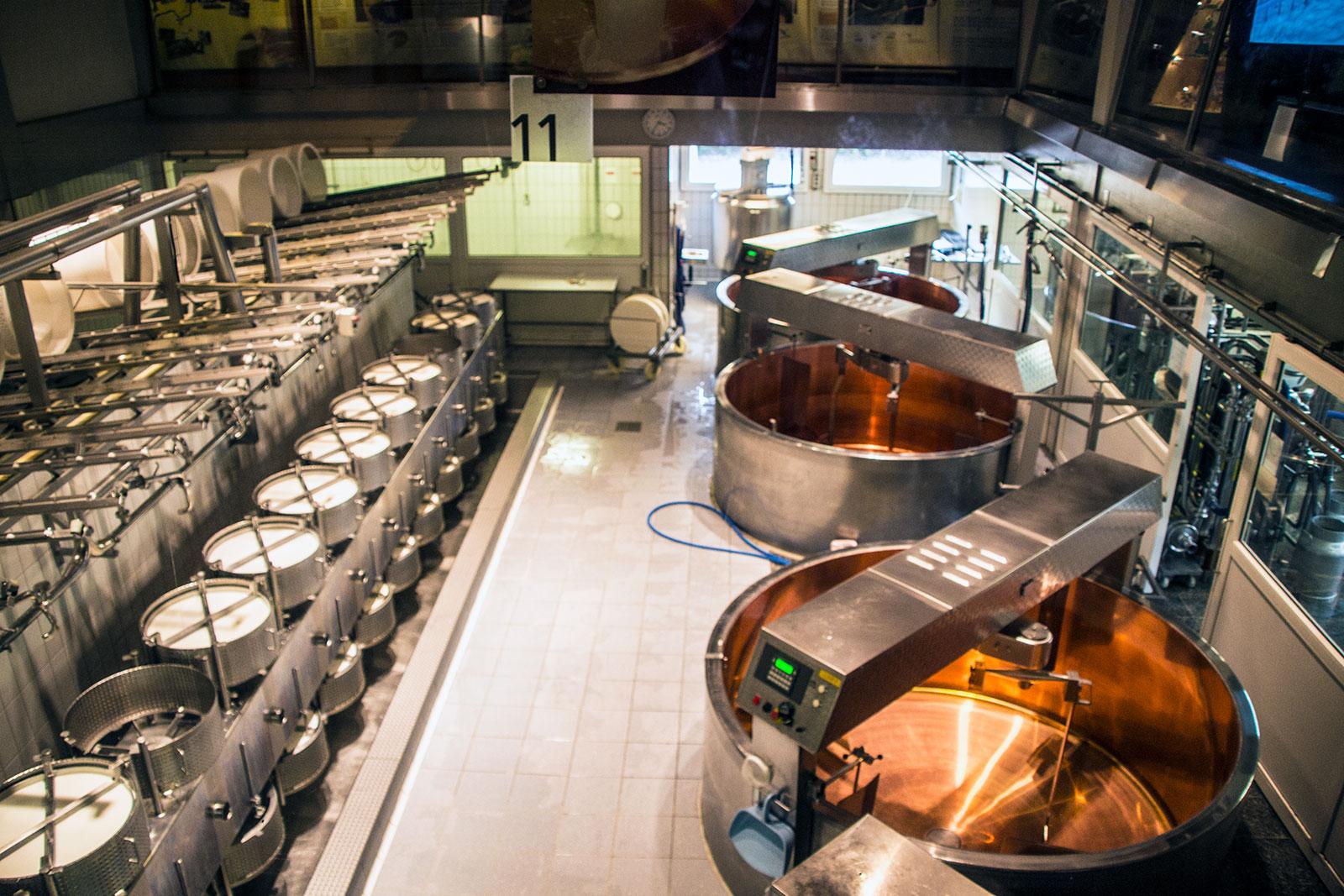 Fábrica de quesos de Gruyère - qué ver en Gruyères