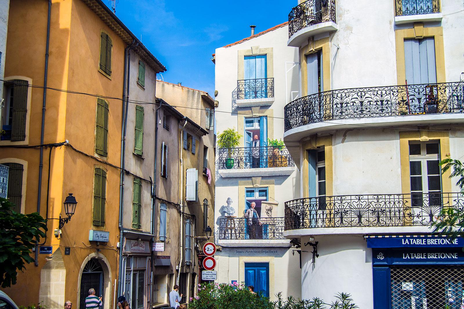 Fachada en Béziers - Aix en Provence y Béziers