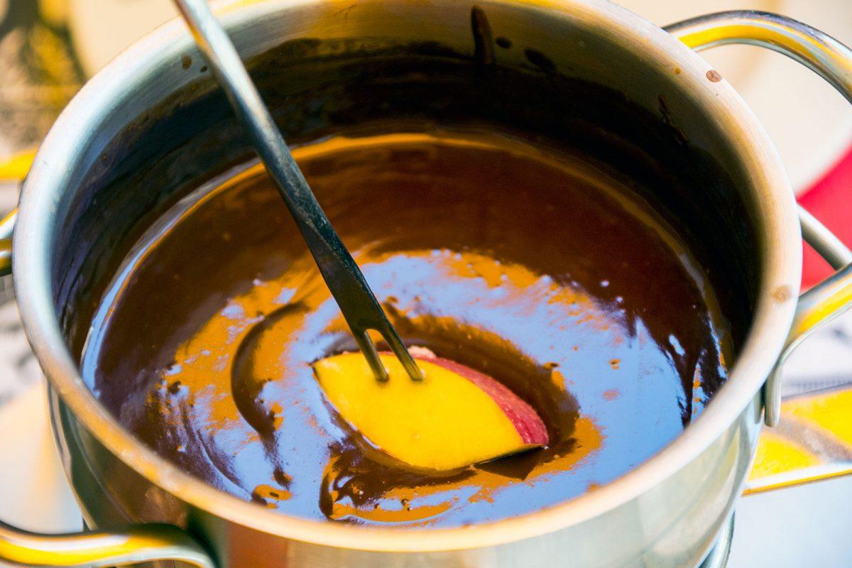 Fondue de chocolate - qué ver en Zúrich