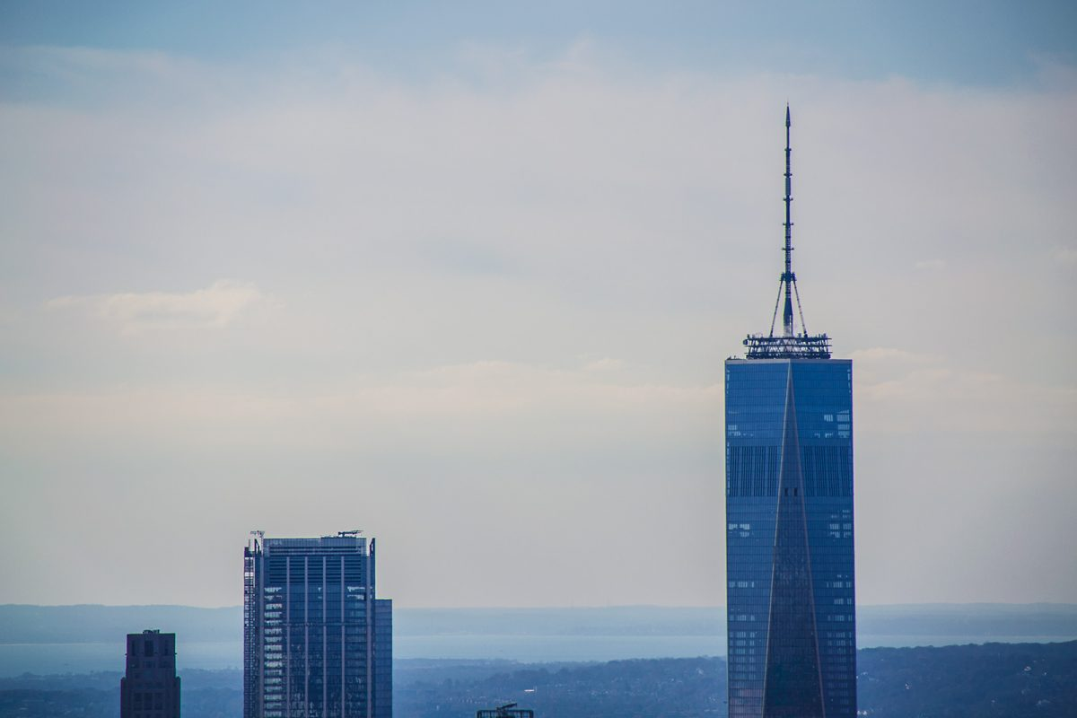 Freedom Tower desde el Empire State Building