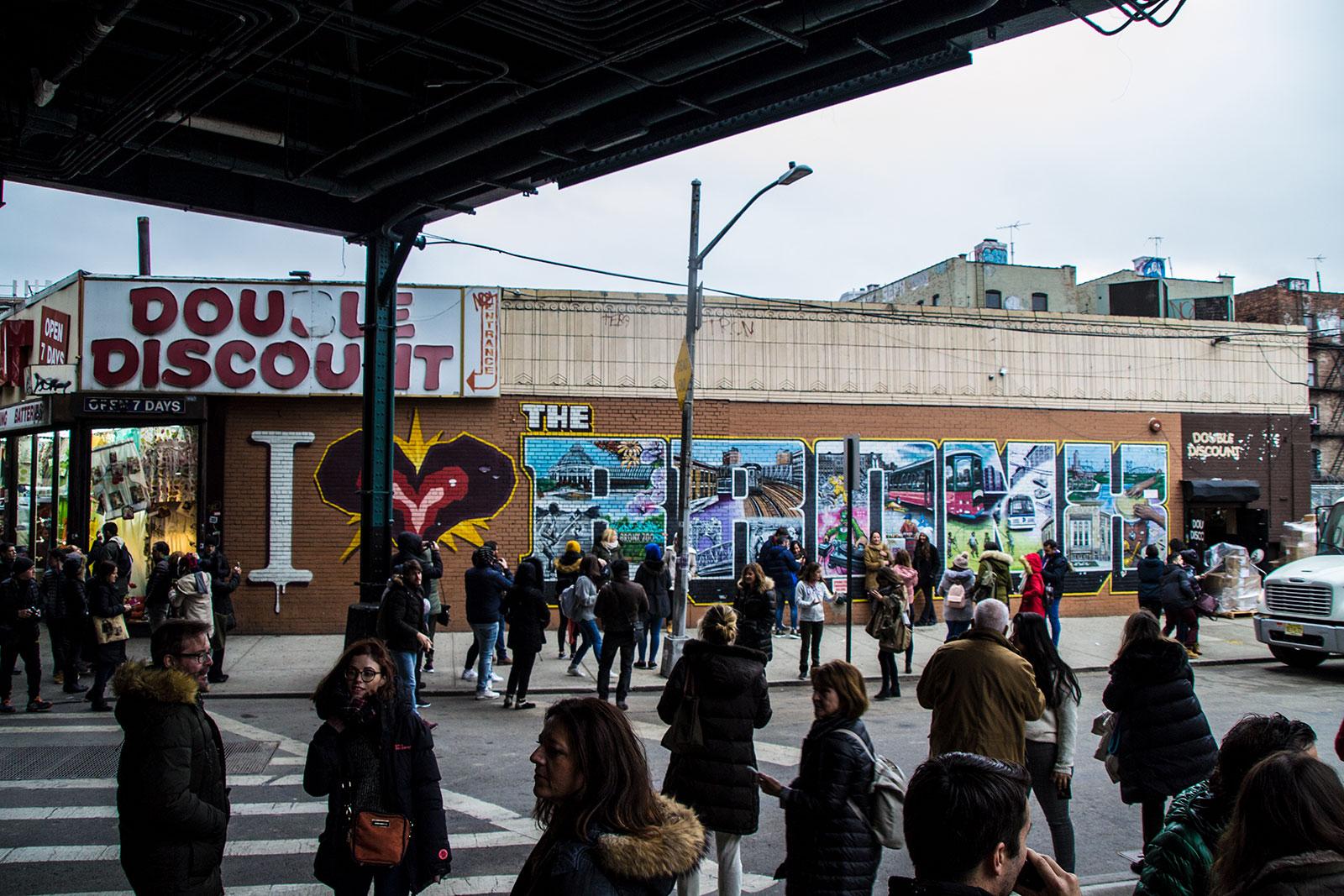 Grafiti I love Bronx - excursiones desde Nueva York