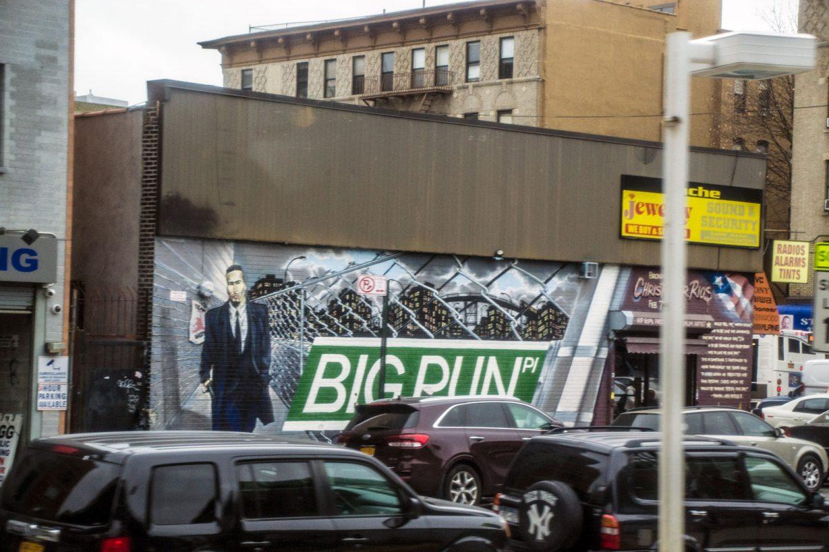 Grafiti de Big Pun - excursiones desde Nueva York