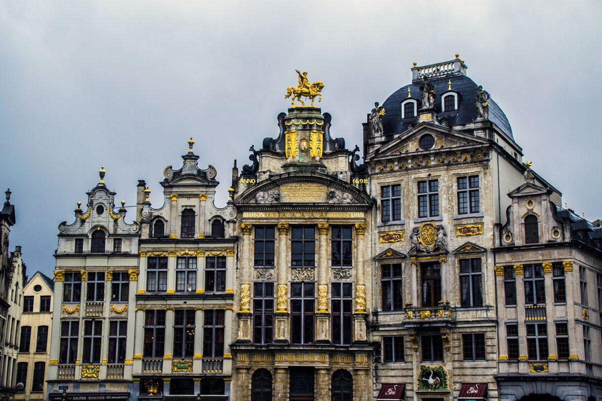 Gran Place de día - que ver en Bruselas