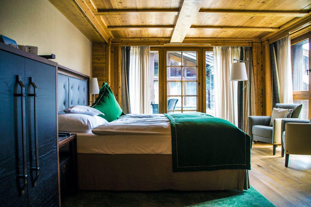 Habitación del Riffelalp Resort 2222m – Zermatt en dos días
