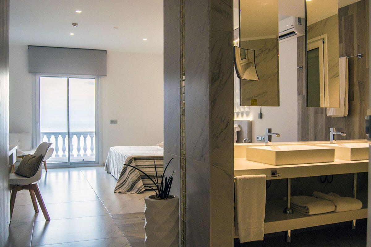 Habitación del Hotel Vistabella - regreso Costa Brava