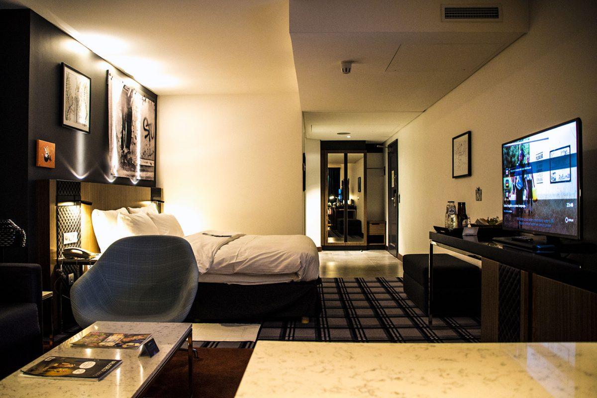 Cama del Radisson Blue Royal Hotel Bruselas - que ver en Bruselas