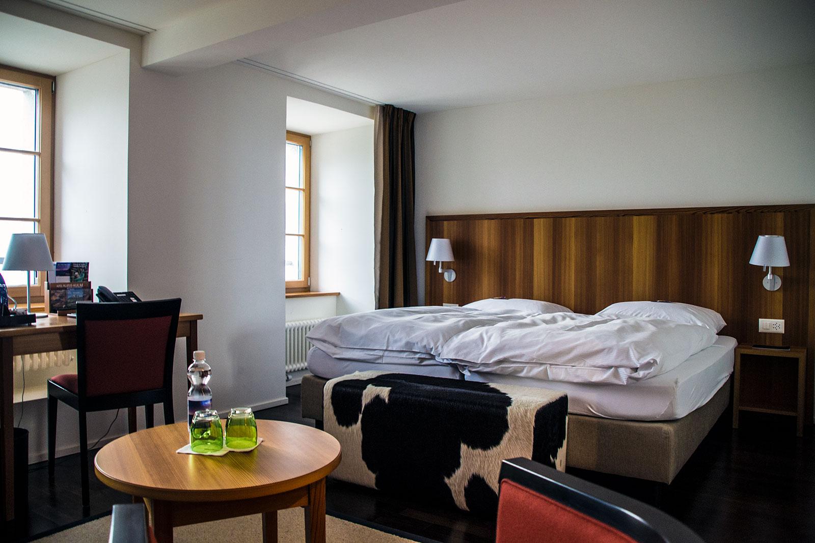 Habitación del hotel Pilatus Kulm
