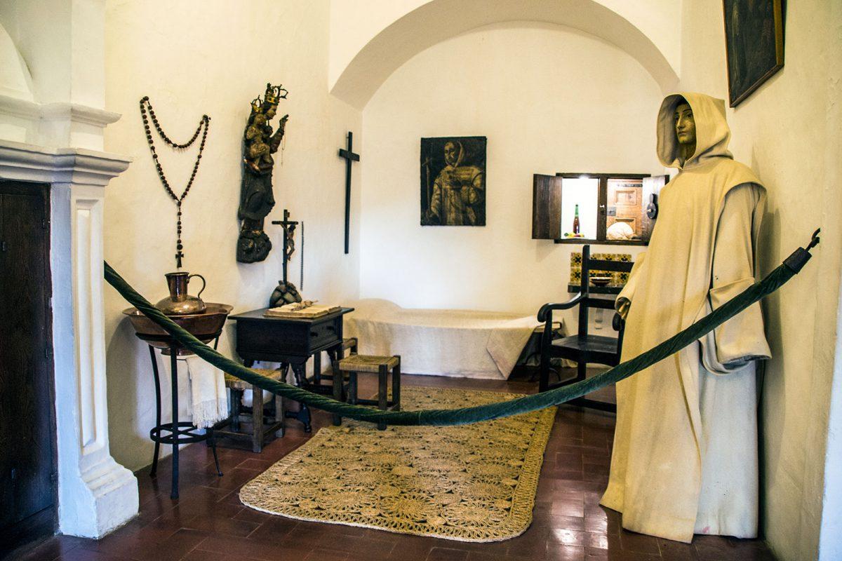 Habitación del monasterio de Valldemosa - Pueblos más bonitos de Mallorca