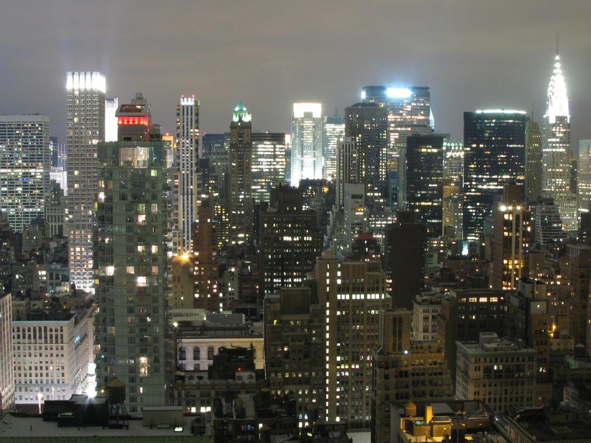 Edificios en Nueva York