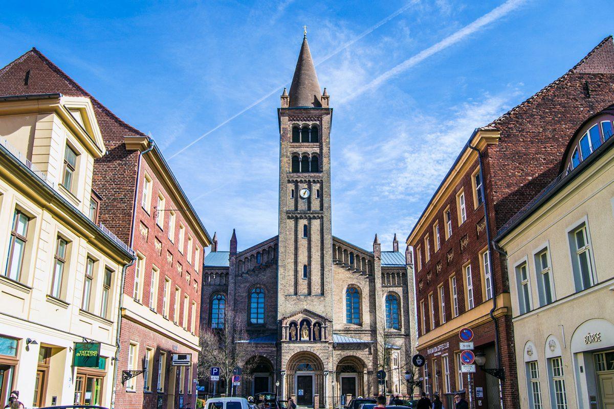 Iglesia de Postdam - día 3 en Berlín