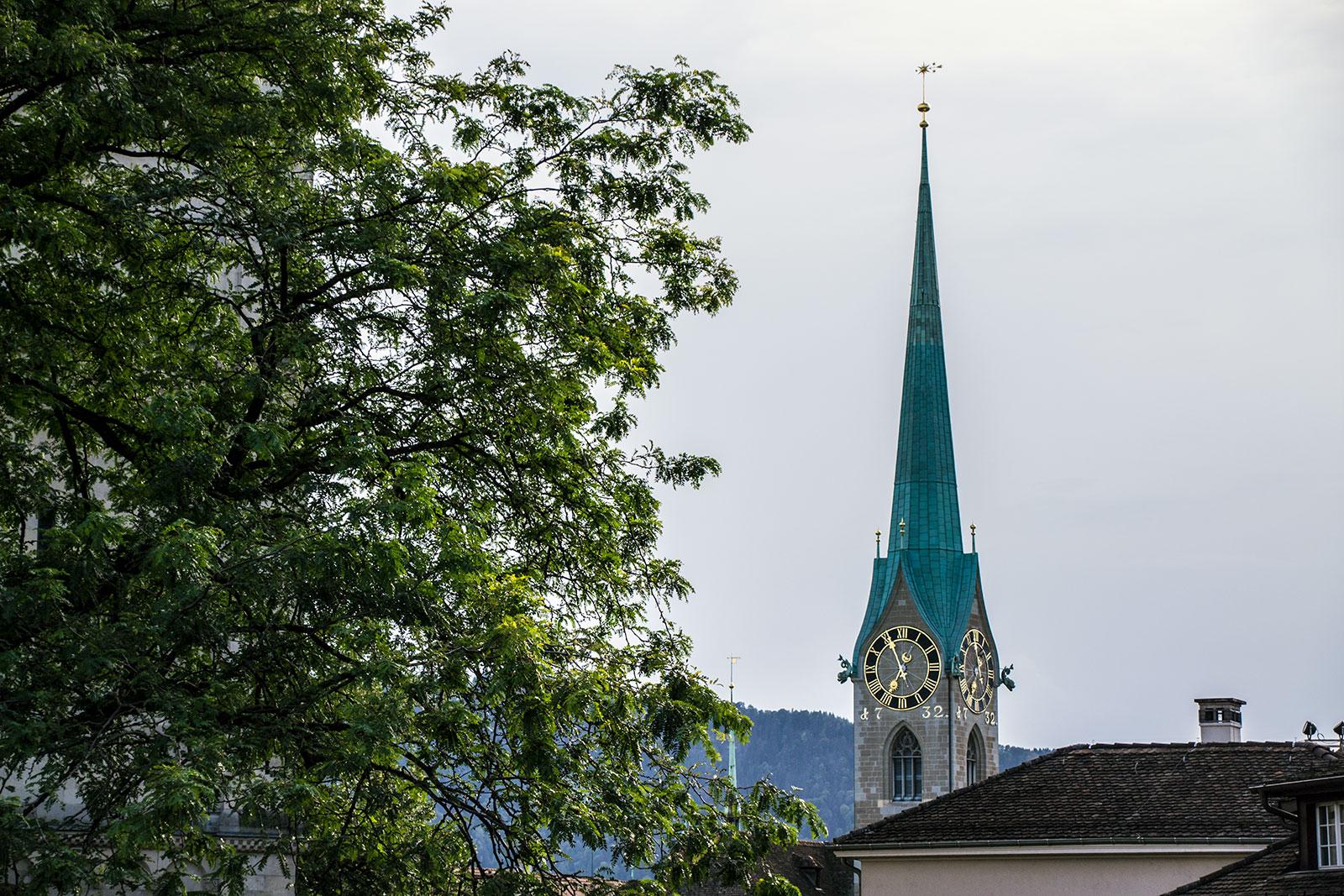 Iglesia de la abadía de Fraumünster - qué ver en Zúrich