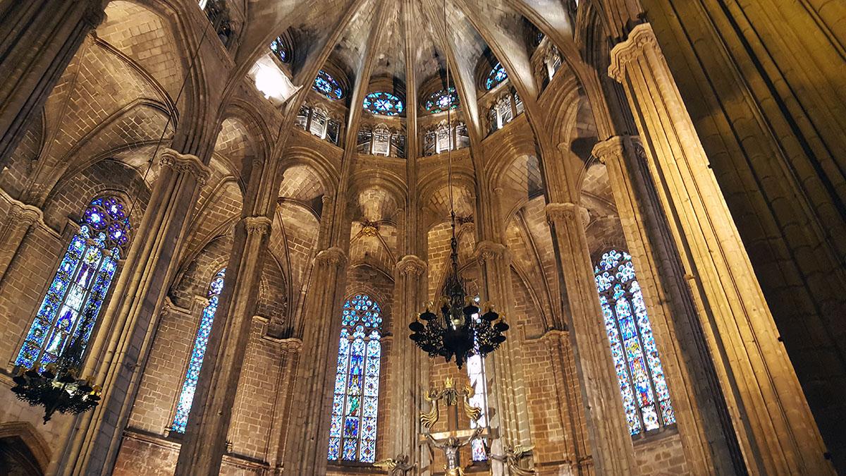 Interior Catedral Barcelona
