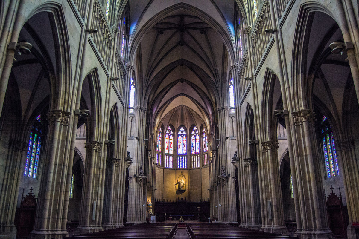 Interior de la Catedral del Buen Pastor