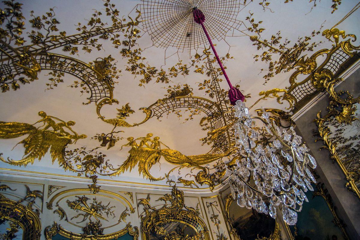 Interior del Palacio de Sanssouci 2 - día 3 en Berlín