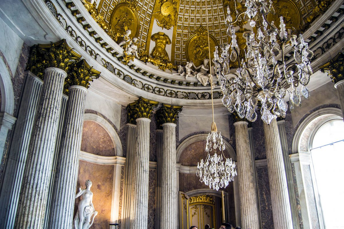 Interior del Palacio de Sanssouci 3 - día 3 en Berlín