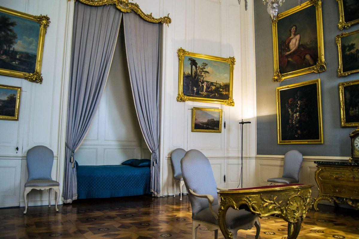 Interior del Palacio de Sanssouci 4 - día 3 en Berlín