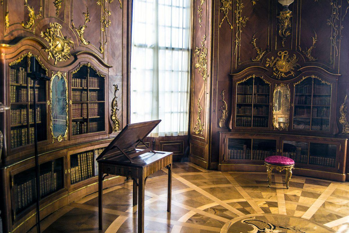 Interior del Palacio de Sanssouci - día 3 en Berlín