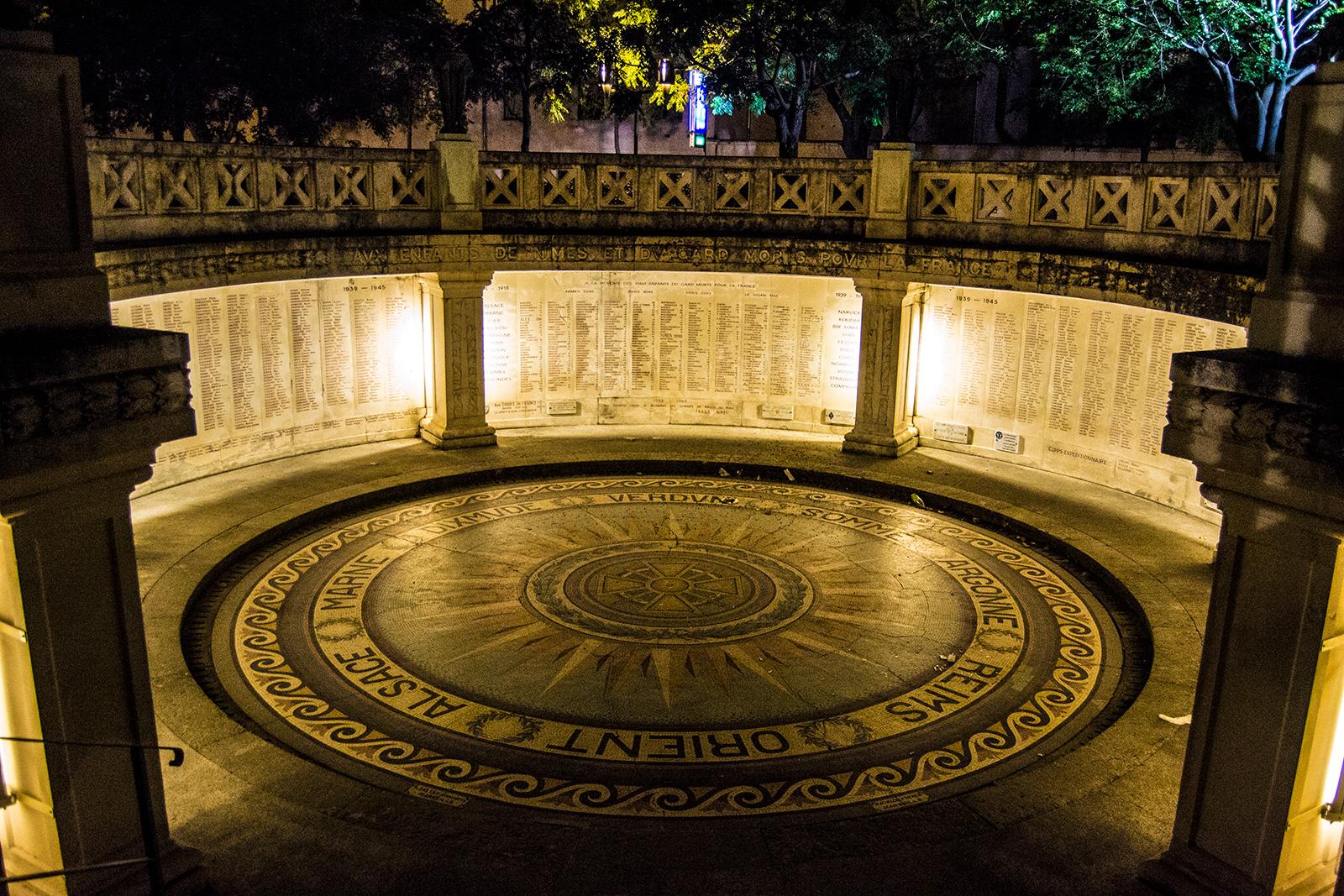 Square du 11 Novembre - qué ver en Nimes