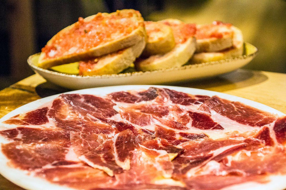 Jamón ibérico - Restaurantes Mallorca