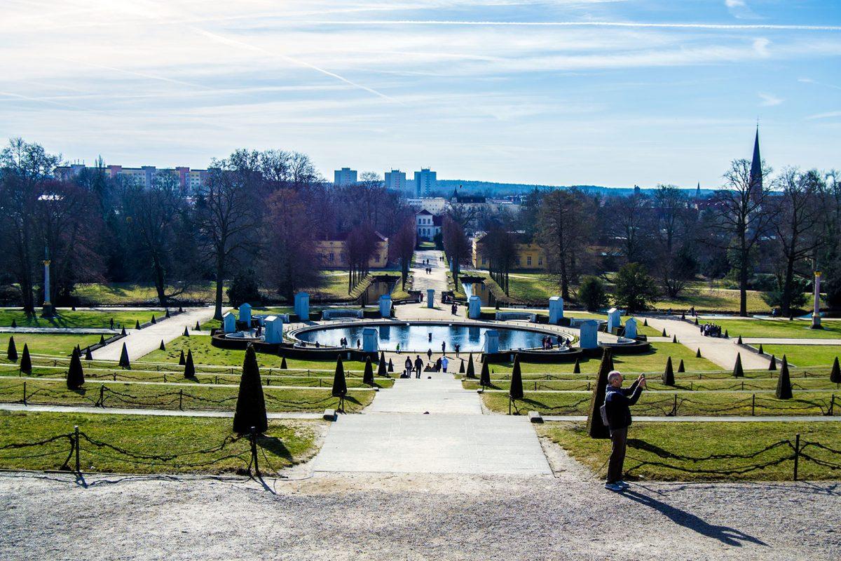 Jardines del Palacio de Sanssouci - día 3 en Berlín