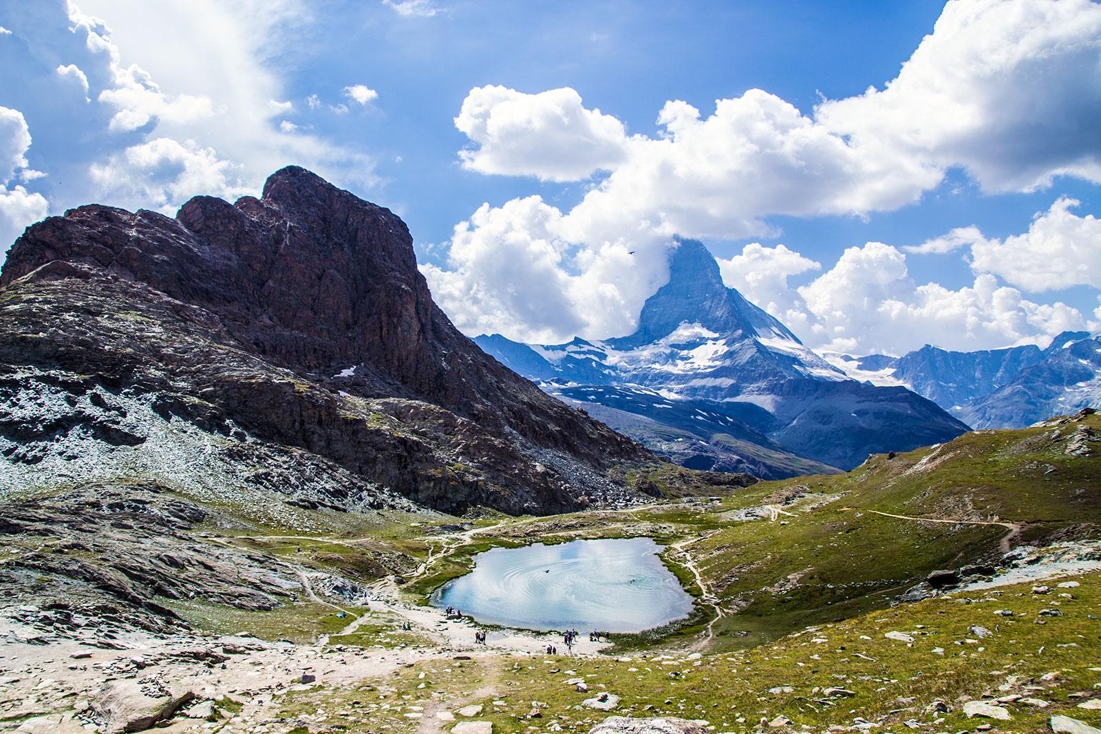 Lago Riffelsee y Matterhorn de fondo – Zermatt en dos días