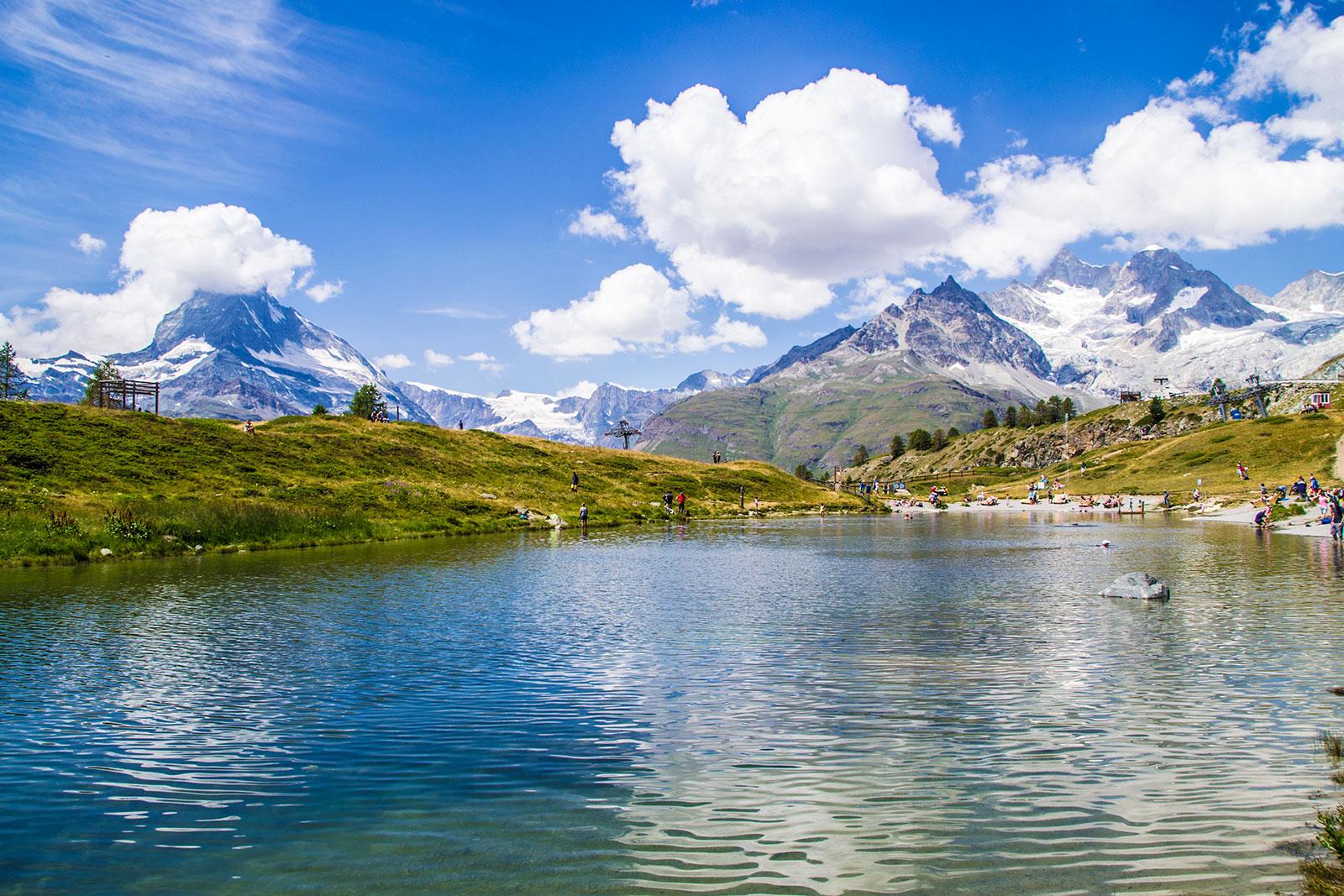 Lago Sunnegga y vistas del Cervino – Zermatt en dos días