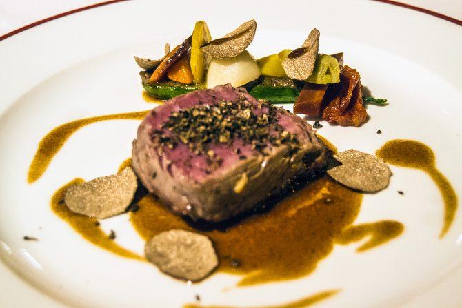 Menú degustación en el restaurante Le Domaine d'Auriac - que ver en Carcassonne en un día