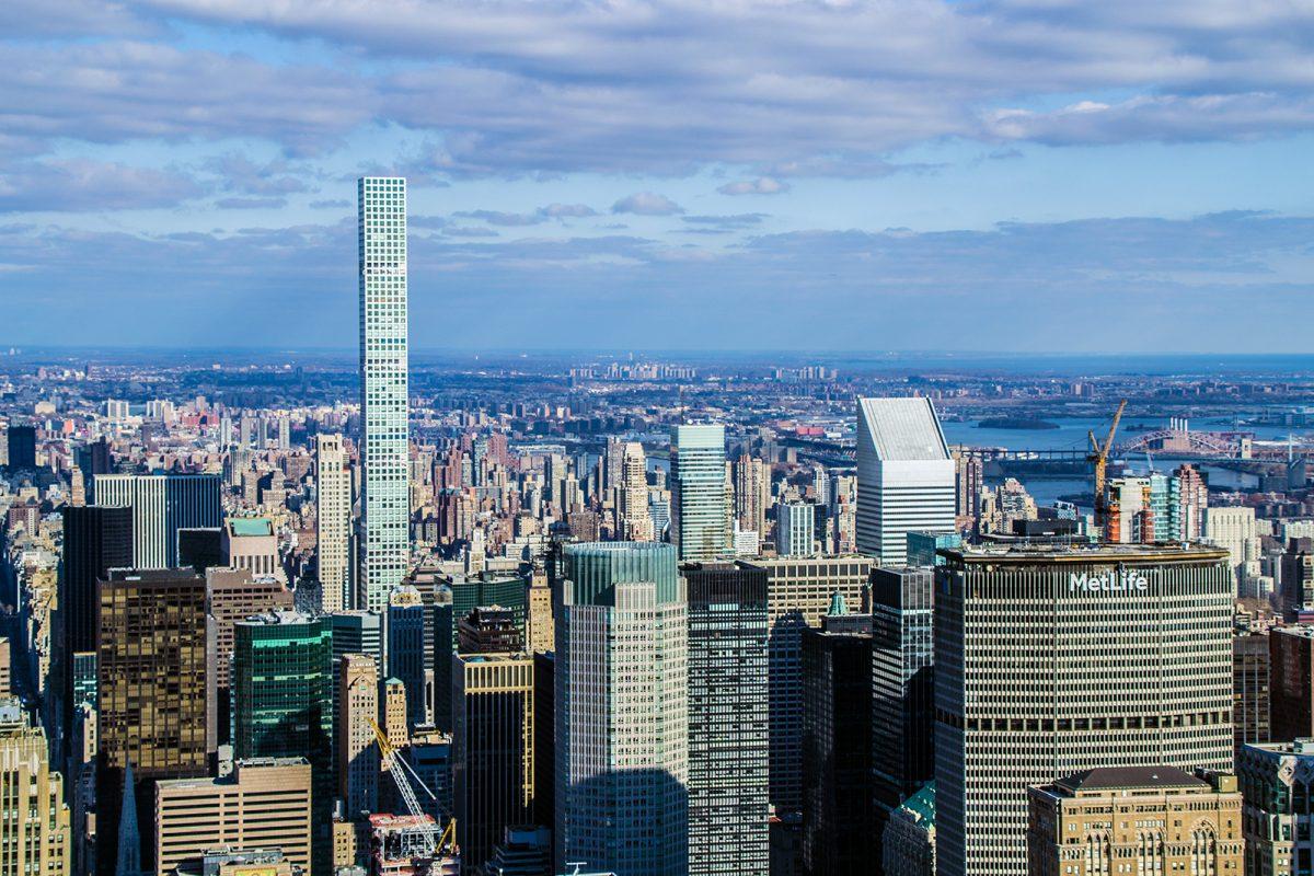 Metlife y edificio 432 Park Avenue - Vistas desde Nueva York