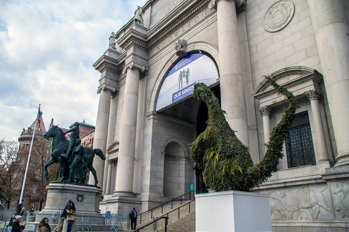 Entrada del museo Americano de Historia Natural - New York CityPass